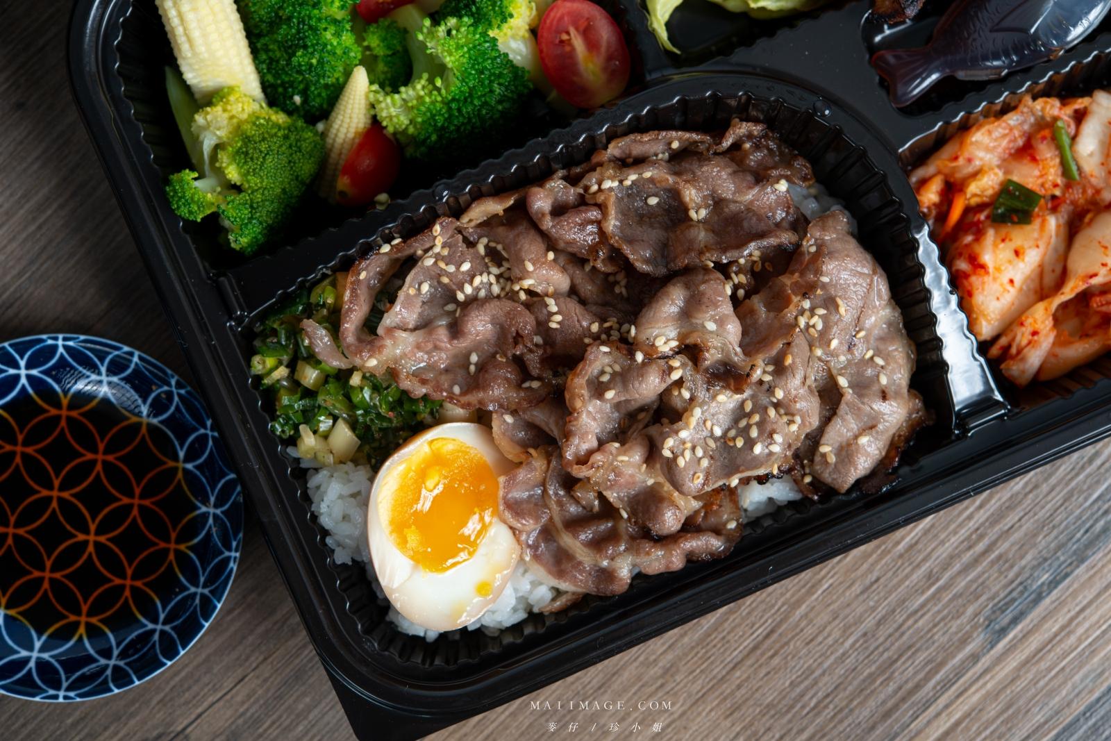 這一盒一解我的燒肉愁!『燒肉燒 x Gumgum雞翅啤酒吧』強強聯手燒肉便當。燒肉教母燒肉吃起來~台北市吉林路必訪燒肉店