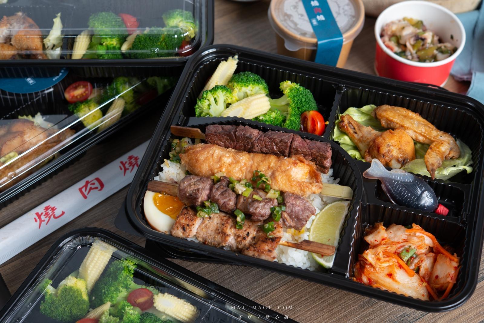 這一盒一解我的燒肉愁!『燒肉燒 x 剛剛雞翅吧』強強聯手燒肉便當。國民舅媽燒肉吃起來~台北市吉林路必訪燒肉店