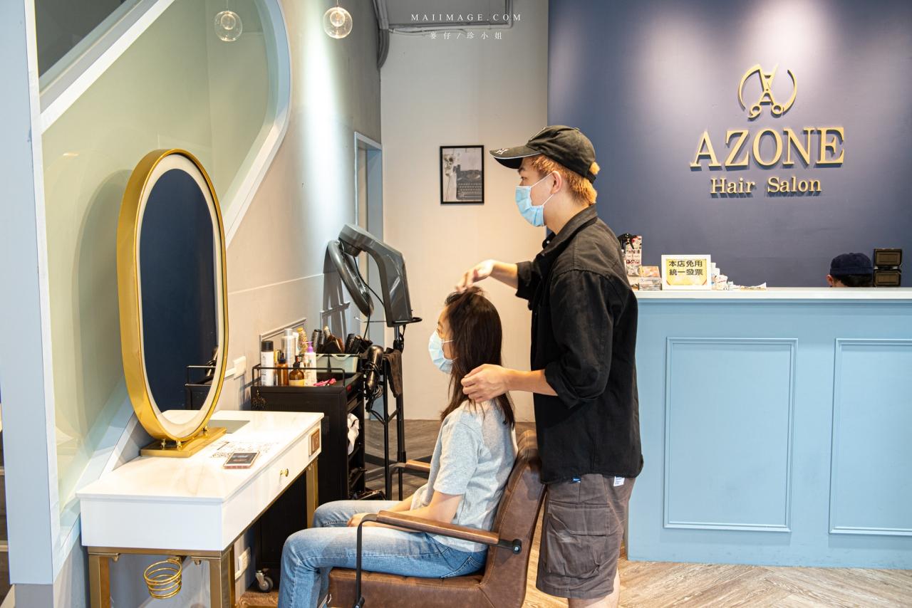 AZONE髮廊寶貝店 Google評價4.9顆星,開店剛滿1個月網路擁有近百則評論~板橋府中染髮推薦、