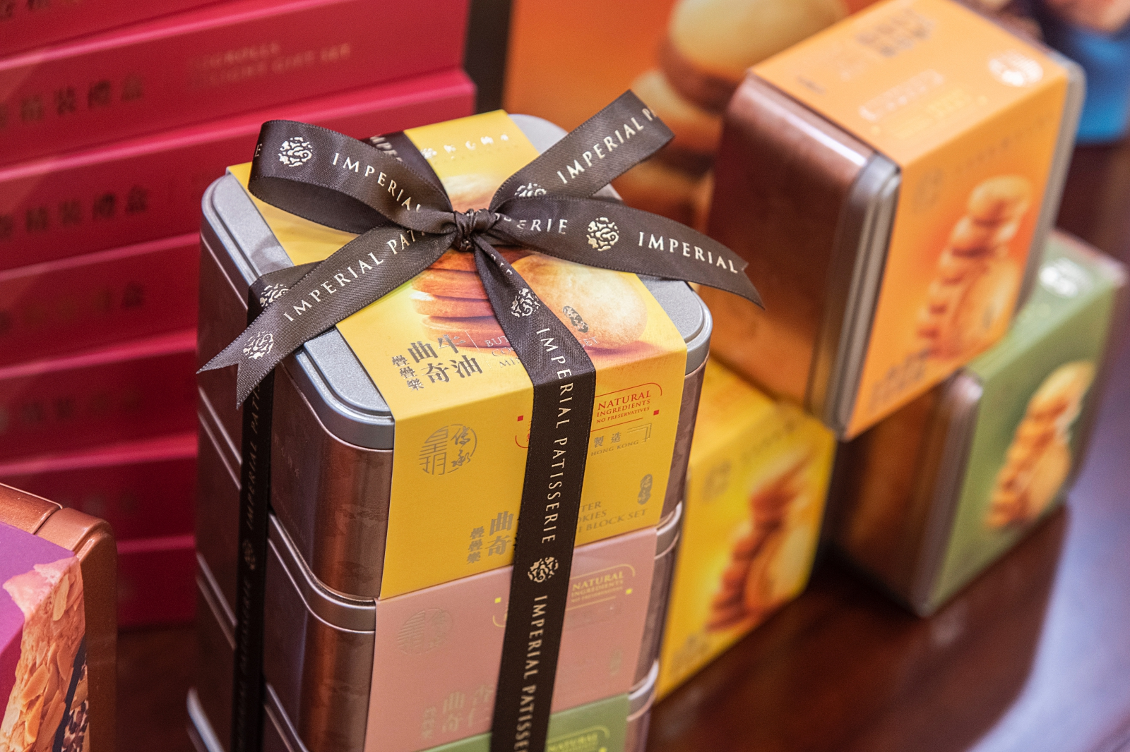 香港美食。皇玥餅藝 Imperial Patisserie|品嚐米其林大廚製作的唐果子、蝴蝶酥、蜂巢蛋捲~|香港伴手禮推薦