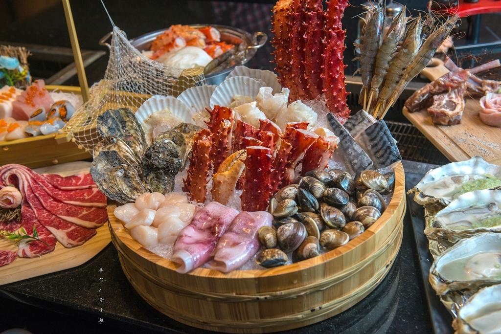台北|蟹宴 日式頂級帝王蟹燒烤鍋物|