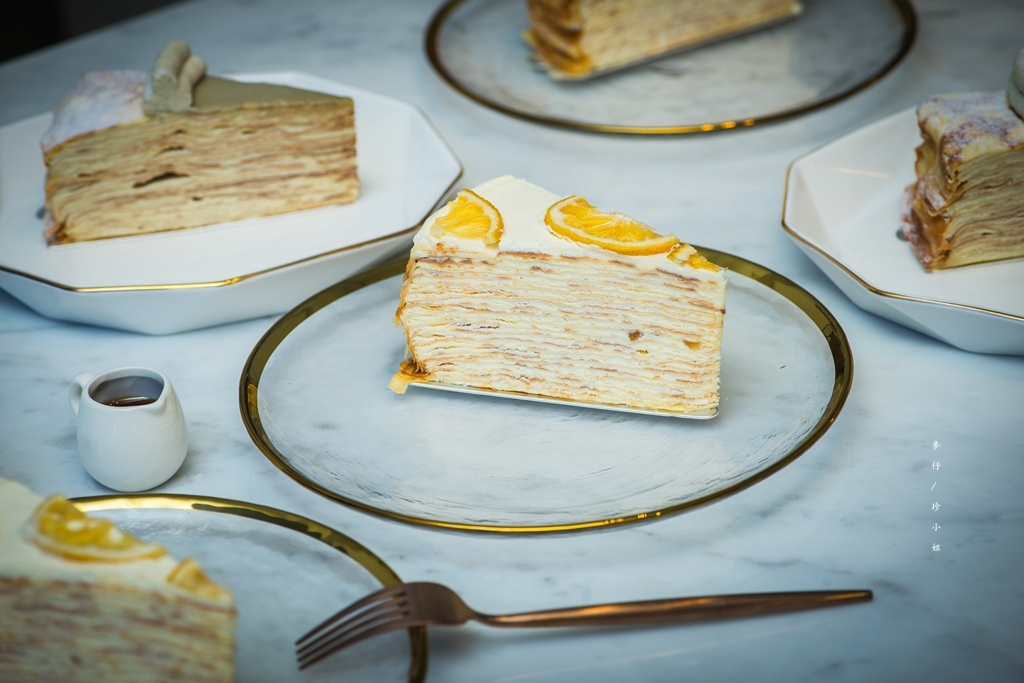 台北|時飴 Approprié千層蛋糕|11/16開始千層蛋糕提供內用空間跟現場購買囉~|赤峰街美食推薦