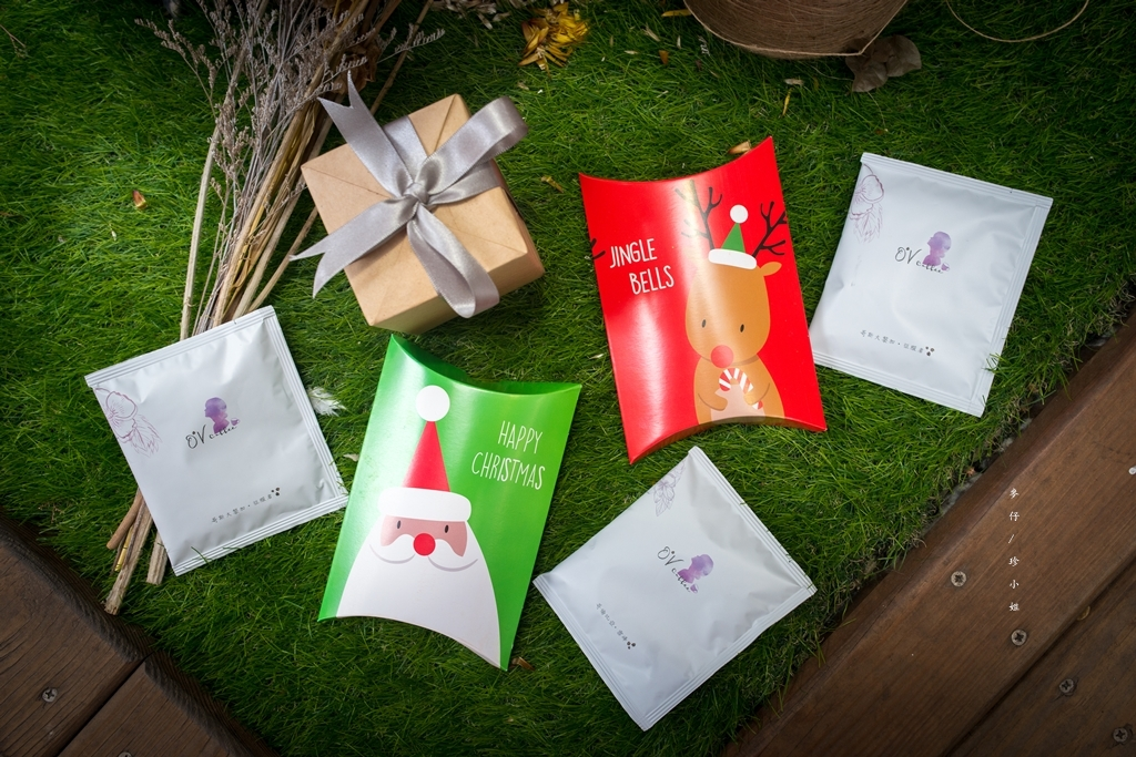 O'V coffee|質感品味兼具~讓精品咖啡也能透過濾掛呈現!期間限定耶誕包裝送禮很體面~