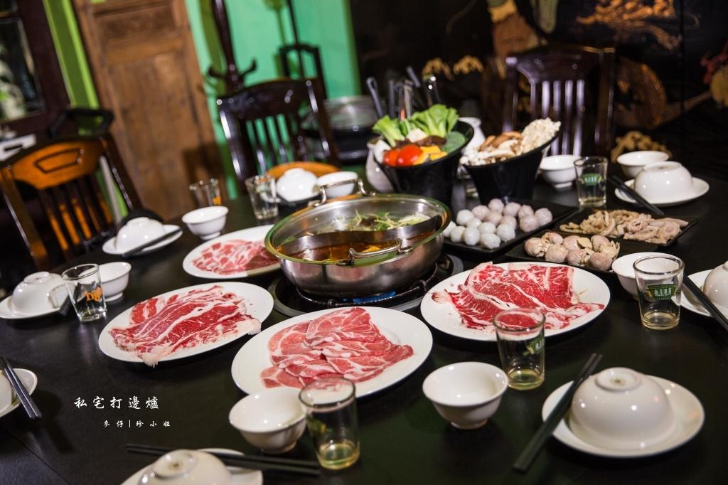 台北|香港私宅打邊爐|終於吃到了~!!!私宅裡港式火鍋獨創一鍋三吃~帶點微微辣度的咖哩鍋超迷人!