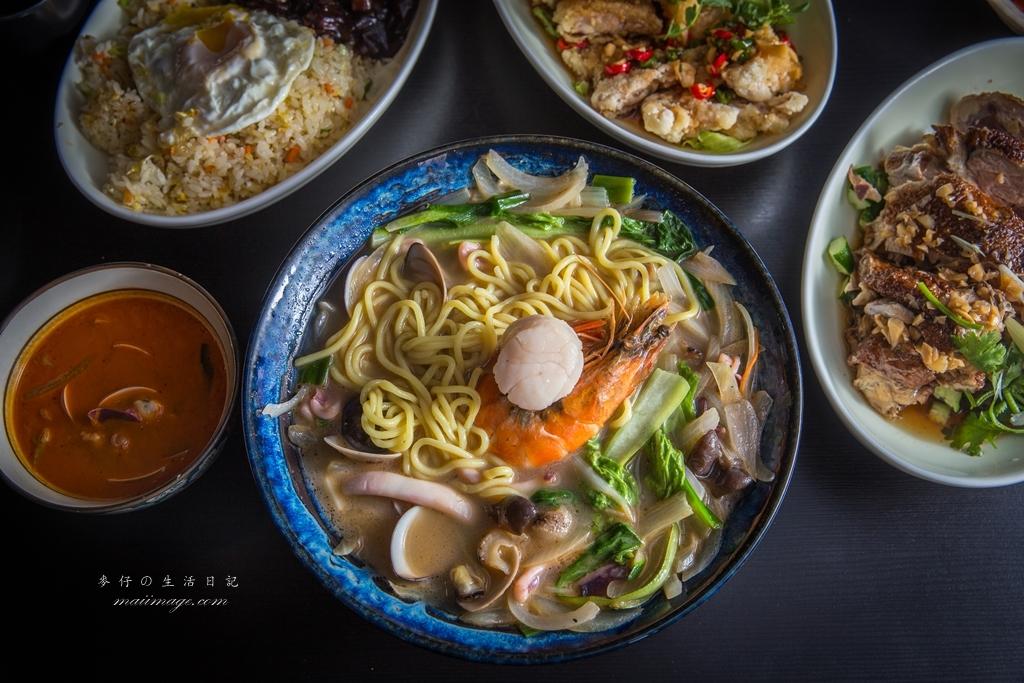 台北中山區韓式料理~韓華園韓式中華料理|炸醬飯、白湯炒碼麵、