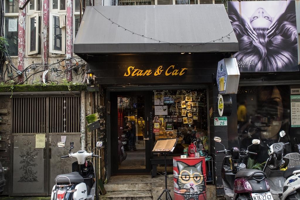 食。台北|Stan & Cat 史丹貓美式餐廳|客製化巨無霸漢堡想吃什麼料自己選~大胃王挑戰|#巨無霸牛肉漢堡|大安區美式餐廳