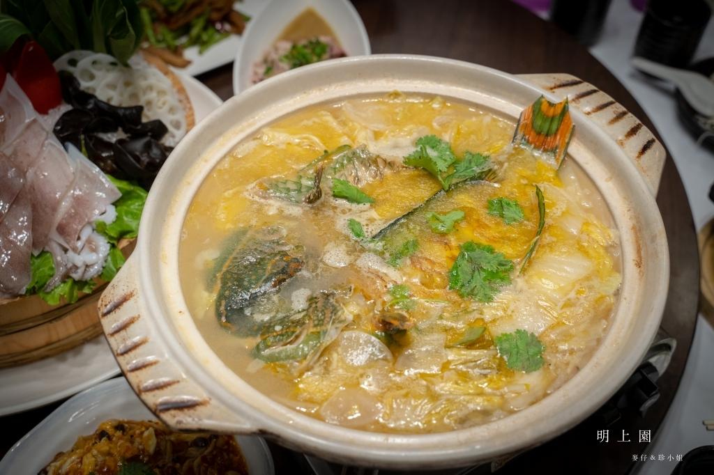 『明上園新川湘料理』台茂購物中心旁的美味川菜,自製的酸白菜滋味真棒|桃園蘆竹區川菜推薦