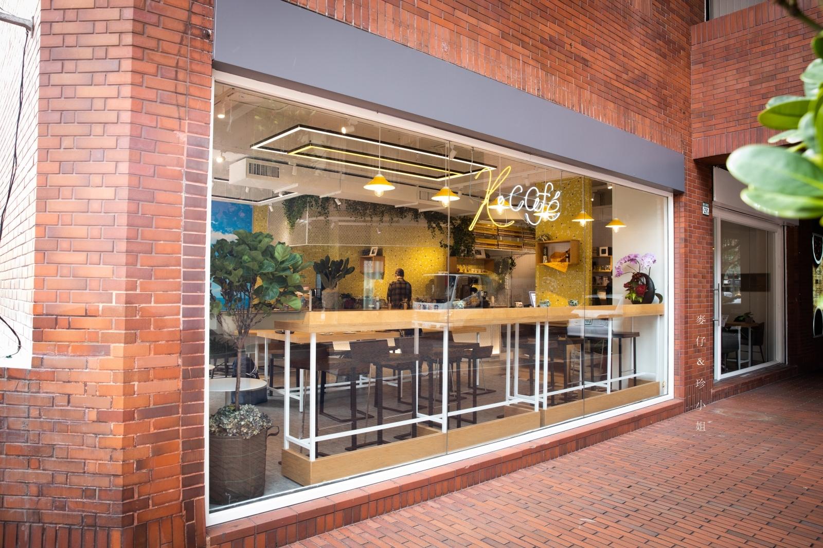 台北美食。K-cafe|來自日本湘南的手沖精品咖啡、輕食,提供插座、wifi、無用餐時間限制|捷運信義安和站美食